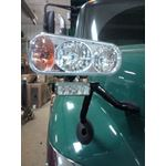 8891009 4 Blue LED Strobe Light On Truck App