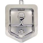 L8816 Polished Stainless Steel Single Point T Handle Latch