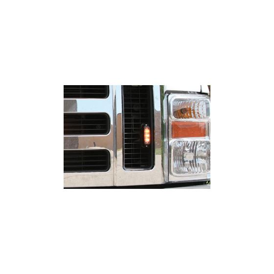 8891400 Amber Surface Strobe on Truck Application