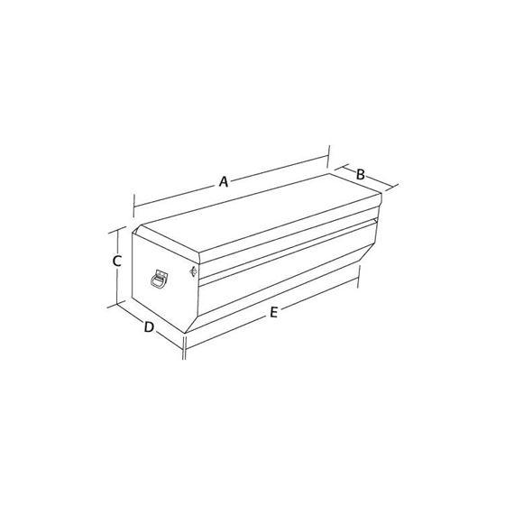 Aluminium Allpursose Chest 19 H x 54 W x 20 D-2