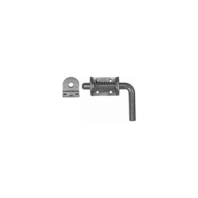"""3/4"""" Zinc Spring Latch with Keeper"""