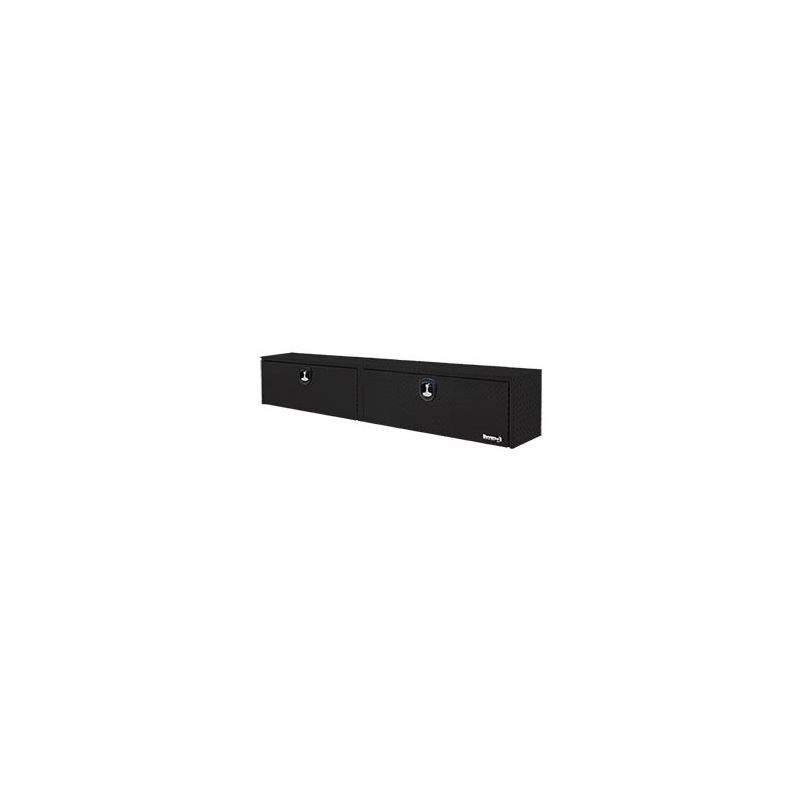 Black Aluminium Topside Tool Box 16 H x 96 W x 33