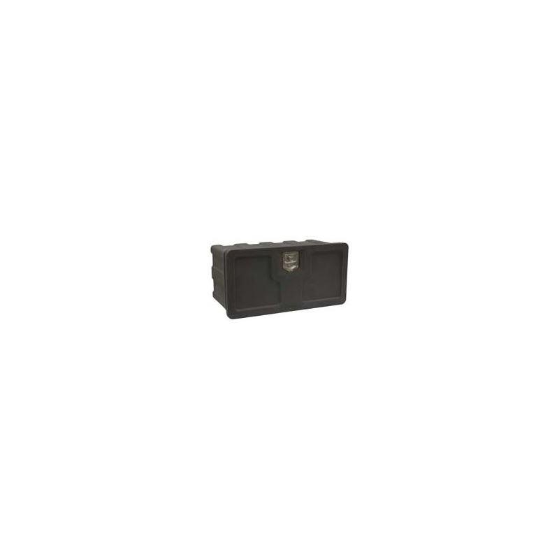 Black Poly Underbody Tool Box 18 H x 48 W x 18 D
