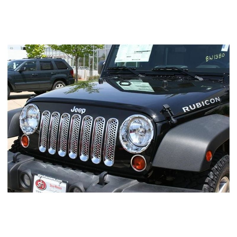 Chrome Trim Grille Covers