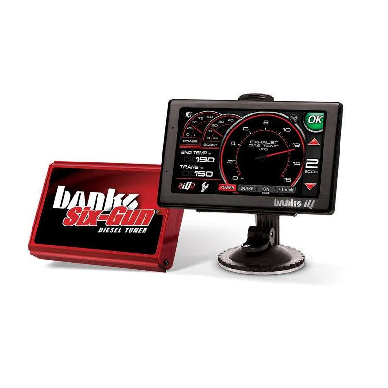 Banks Six-Gun Diesel Tuners and Banks iQ Monitors