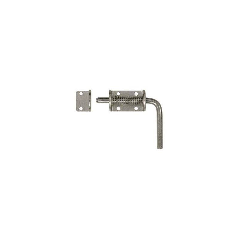Zinc Spring Latch Assembly with Keeper