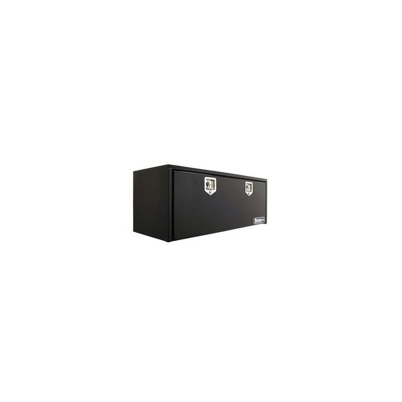 Black Steel Underbody Tool Box with SS THandle 24