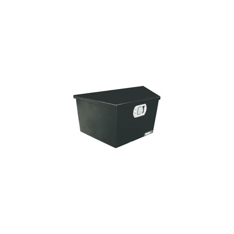 Black Steel Trailer Tounge Tool Box 12 H x 27 W x