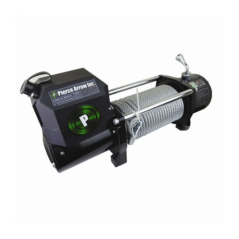 Winch | 9,000 lb | 12 Volt | PIERCE Recovery Serie