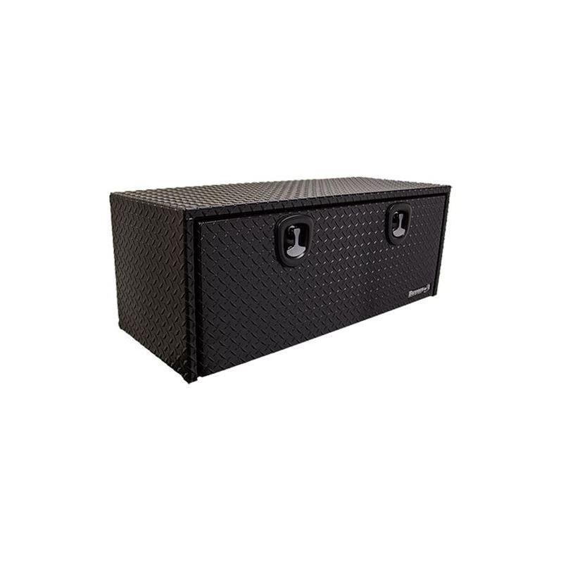 Black Aluminium Underbody Tool Box 18 H x 48 W x 1