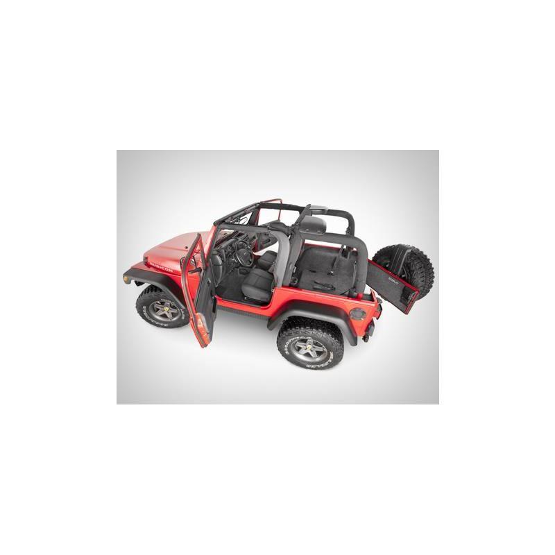 BedRug Jeep Wrangler Floor Liners